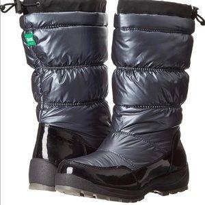 Cougar Minty Waterproof Gunmetal Snow Boots Size 9